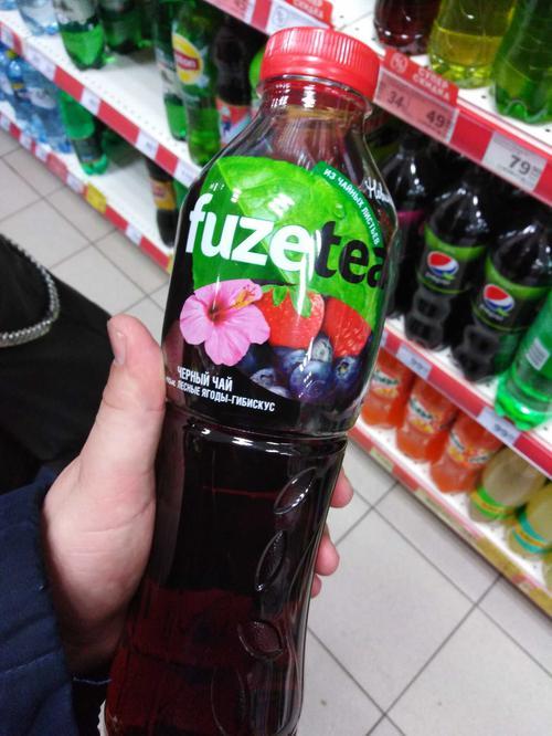 описание fuzetea - чёрный чай. лесные ягоды - гибискус