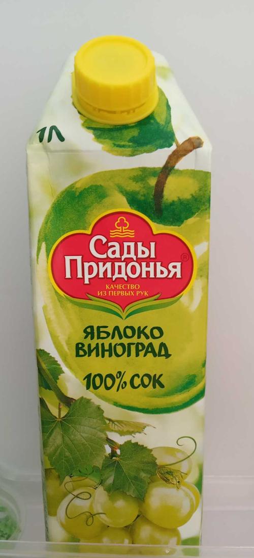 цена Сок «Яблоко-виноград»