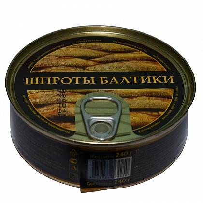 Шпроты в масле из салаки, ГОСТ 280-2009. Консервы рыбные стерилизованные «Шпроты Балтики»