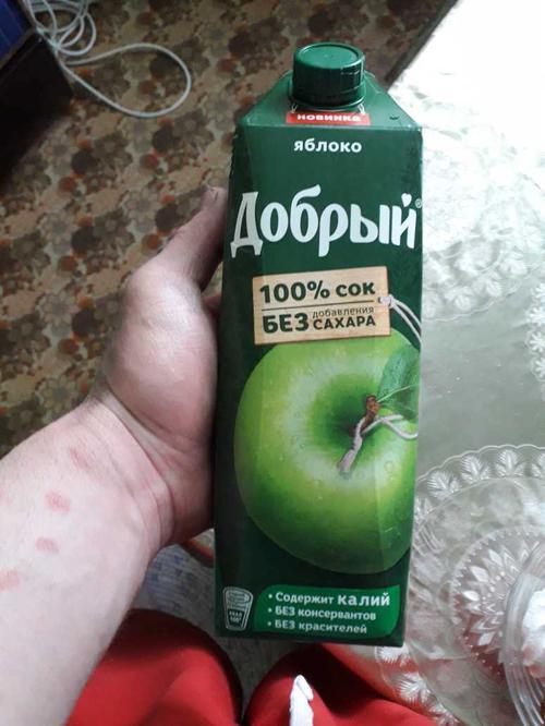 фото2 Сок Добрый яблочный, 1л.