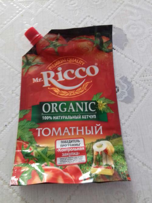 отзыв Кетчуп томатный Pomodoro Speciale Mr.Ricco. Высшая категория. Пастеризованный.
