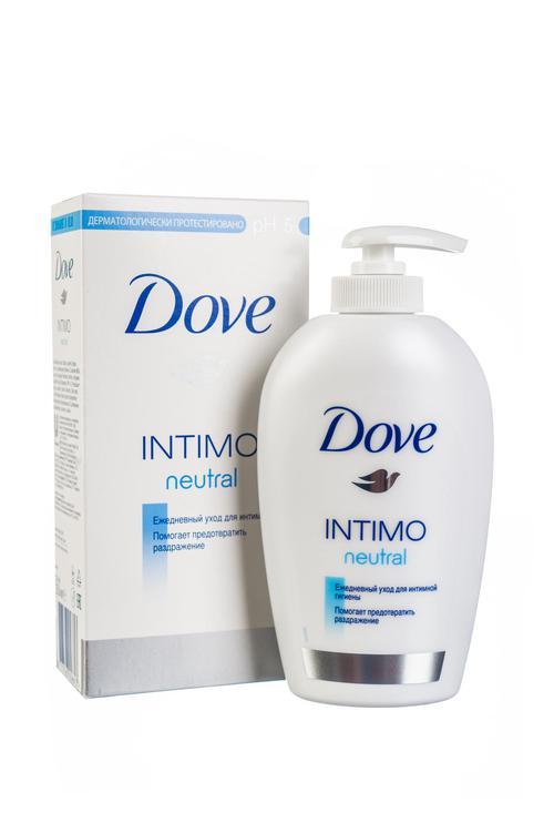 описание Dove Intimo neutral средство косметическое для интимной гигиены