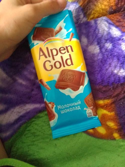 фото7 Шоколад Alpen Gold молочный, 90гр.