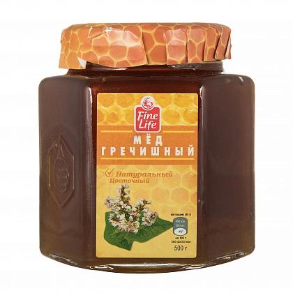 Мёд натуральный цветочный гречишный