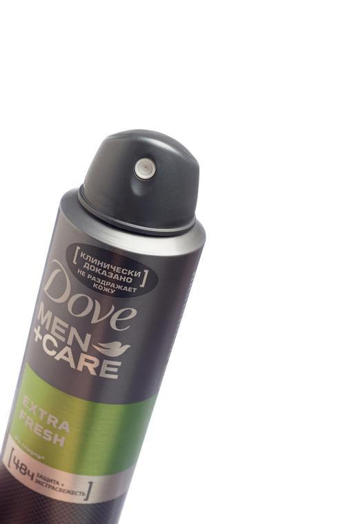 """Антиперспирант аэрозоль """"Dove men+care"""" Свежий бриз, эффективно защищает 24ч, не раздражает кожу, """"Unilever"""", 150мл"""