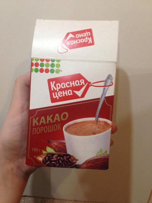 """отзыв Какао """"Красная цена"""""""