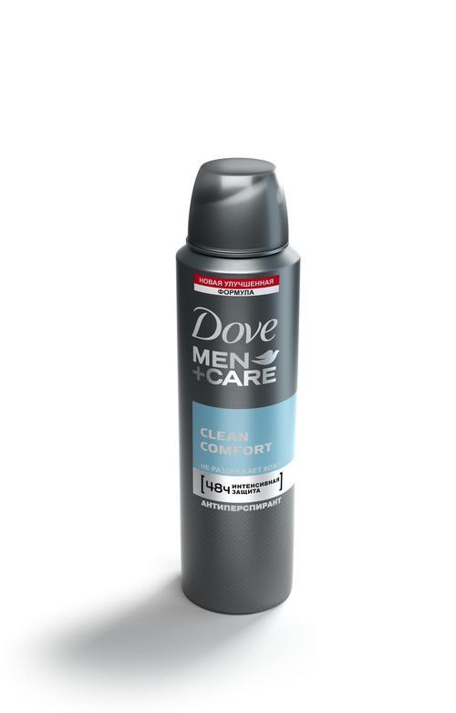 """Антиперспирант аэрозоль """"Dove men+care"""" Экстразащита+уход, эффективно защищает 48ч, не раздражает кожу, """"Unilever"""", 150мл"""