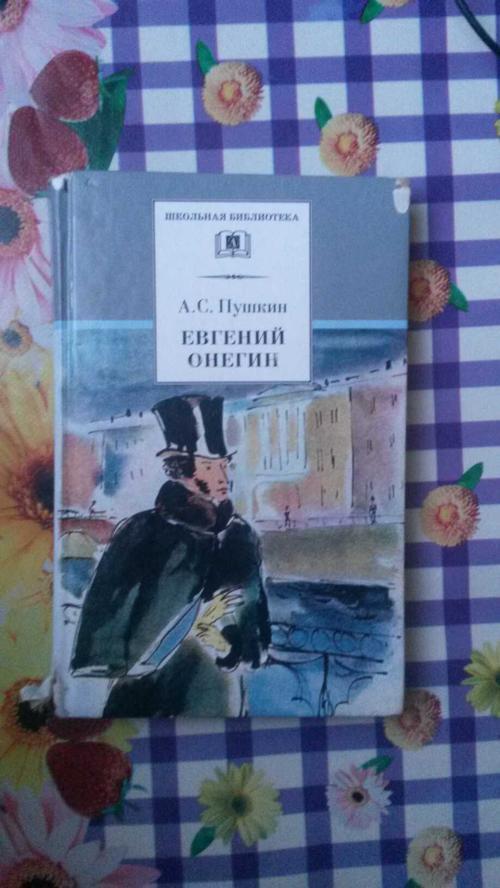 Евгений Онегин : [для старшего школьного возраста] : роман в стихах