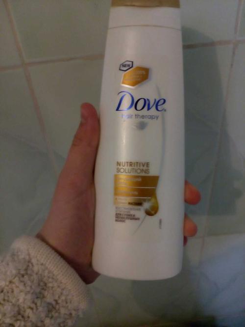 Шампунь Dove hair therapy питающий уход