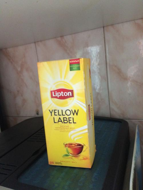 стоимость Чай Lipton Yellow Label черный, 25пак.