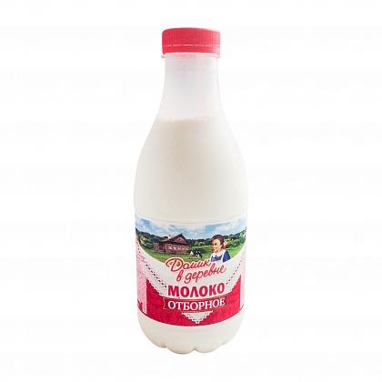 """Молоко """"Домик в деревне"""" отборное 3,5% пастеризованное, 930гр."""