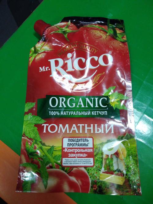 стоимость Кетчуп томатный Pomodoro Speciale Mr.Ricco. Высшая категория. Пастеризованный.