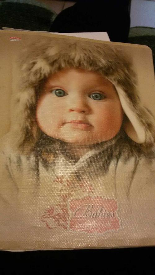 Babies copybook