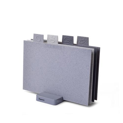 Набор из 4-х разделочных досок 32x19см (пластик)