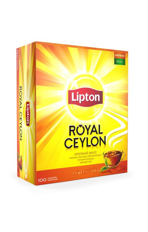 Чай черн байховый royal ceylon 12x100пх2г