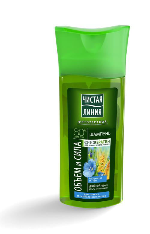 отзыв Чистая Линия  шампунь  для тонких и ослабленных волос Пшеница, 250 мл