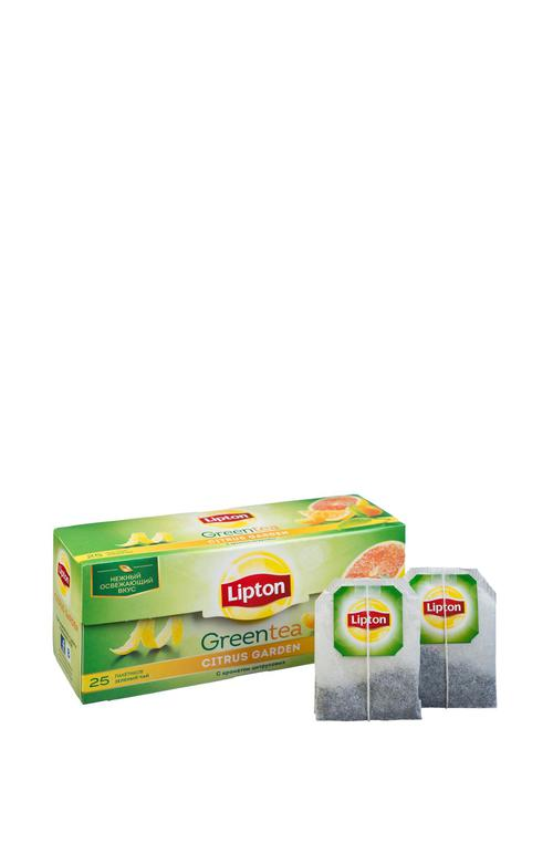 цена Lipton CITRUS GARDEN GREEN TEA