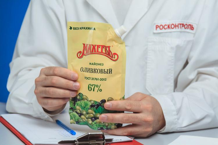 Майонез Махеевъ Оливковый 67 %, 380гр.