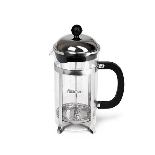 Чайник заварочный LATTE 800мл с поршнем (стеклянная колба)