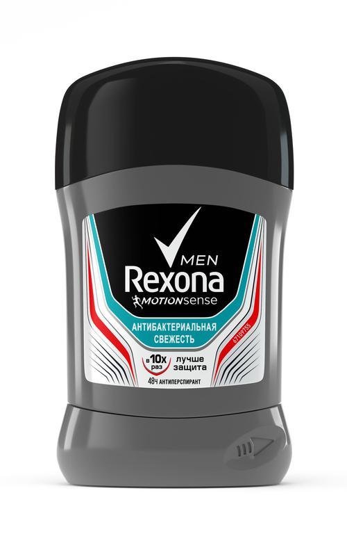 """описание Дезодорант-стик """"Rexona Men"""" Антибактериальня свежесть, 50 мл."""