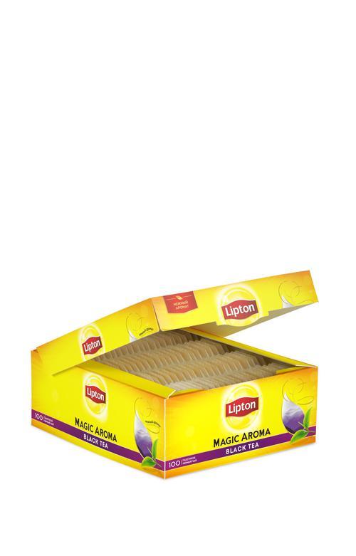 отзыв Чай черный байх ароматизрованный lipton magic aroma 12х100пакх2г