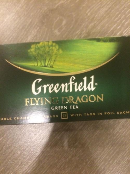фото1 Чай зеленый байховый Гринфилд Флаинг Драгон в пакетиках