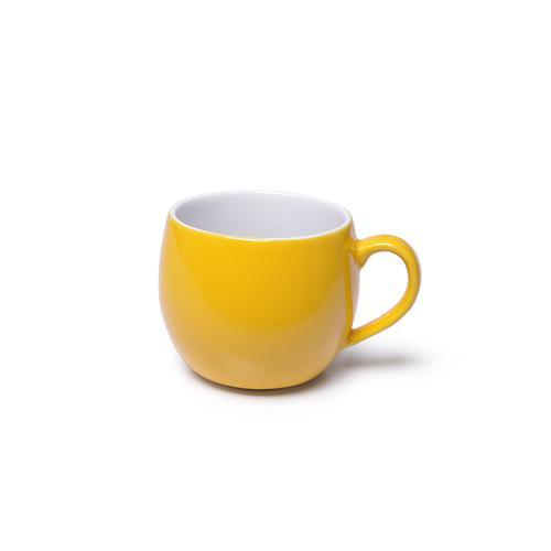 Кружка 320мл, цвет Желтый (керамика)