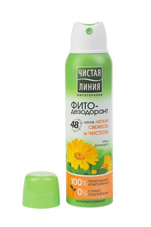 отзыв Антиперспирант аэрозоль фитодезодорант чистая линия легкая свежесть и чистота