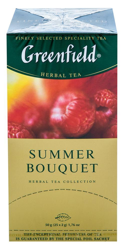 Напиток чайный Гринфилд Самма Букет в пакетиках