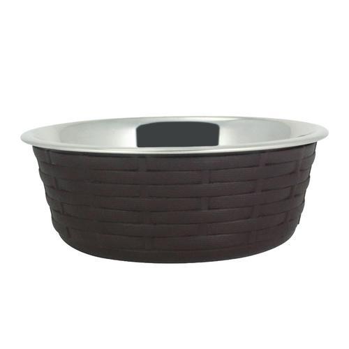 Миска для животных Foxie Woven Fusion Bowl металлическая 800мл