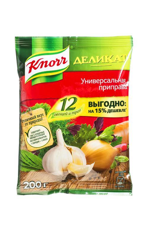 отзыв Приправа Knorr деликат универсальная 12 овощей и трав 200г