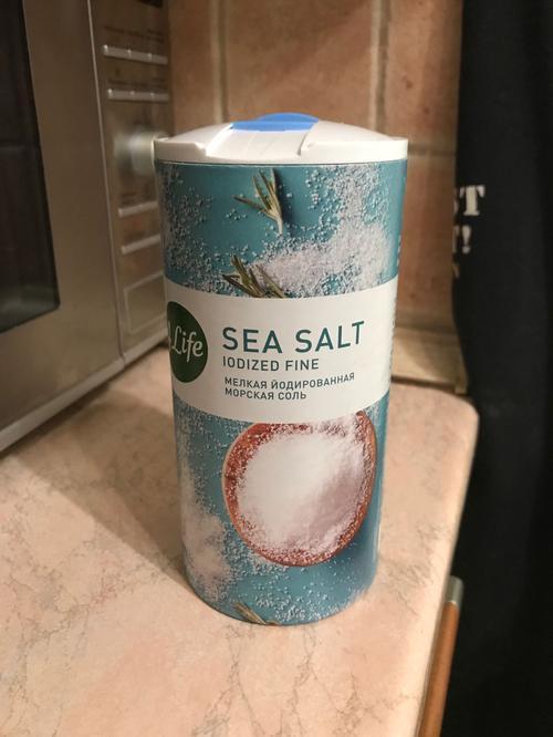отзыв Соль атлантическая морская йодированная пищевая мелкая