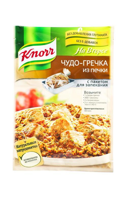 "отзыв Knorr На Второе ""Чудо-гречка из печки"""