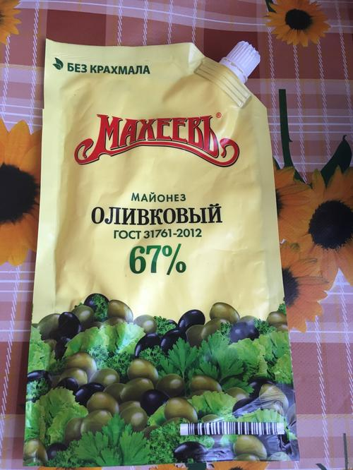 цена Майонез Махеевъ Оливковый 67 %, 380гр.