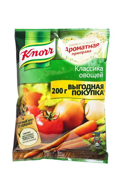 """отзыв Ароматная приправа """"Knorr Классика овощей"""" универсальная 200 г."""