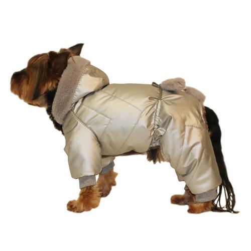 Комбинезон для собак YORIKI Космонавт унисекс XL 32 см