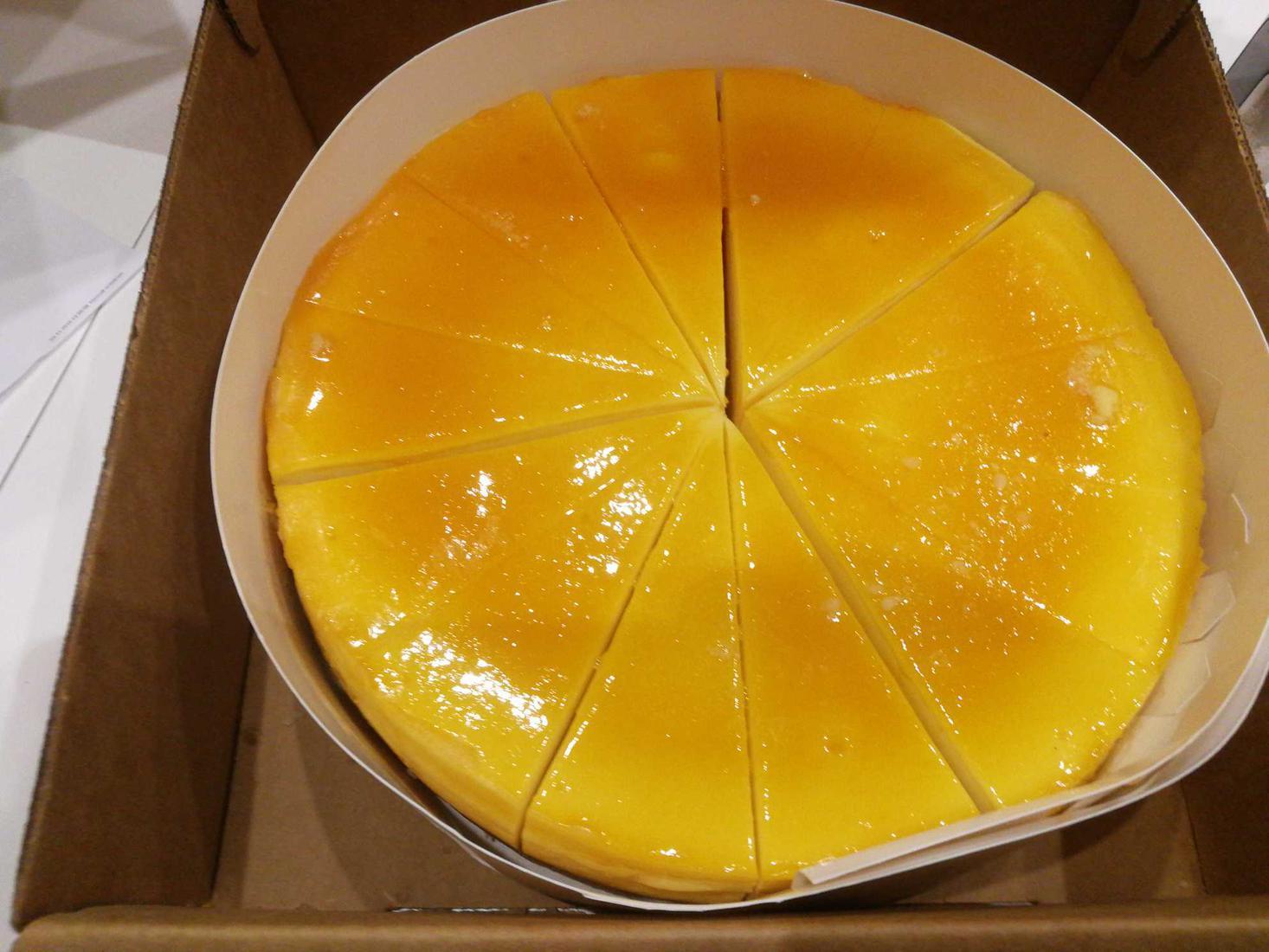 Чизкейк манго и маракуйя