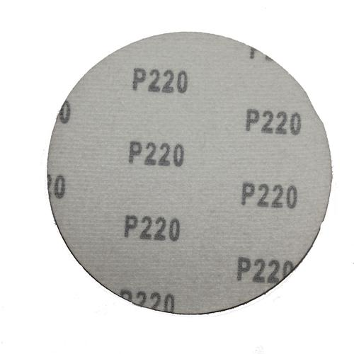Диски шлифовальные на липучке 125 мм без отверстий P220