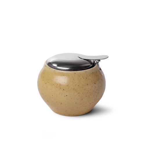 FISSMAN Сахарница 250мл, цвет Песочный (керамика)