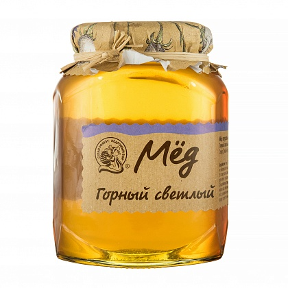 отзыв Мёд натуральный цветочный горный светлый