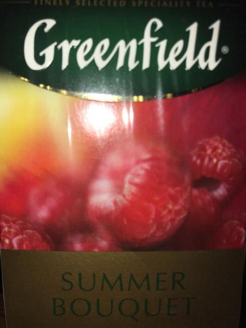 фото2 Напиток чайный Гринфилд Самма Букет в пакетиках