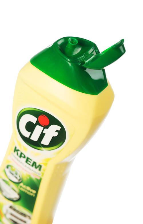 """отзыв Чистящий крем со специальными микрогранулами """"CIF АКТИВ ЛИМОН"""", 500 мл."""