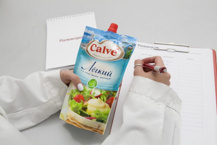 цена Майонезный соус Calve Легкий 20%