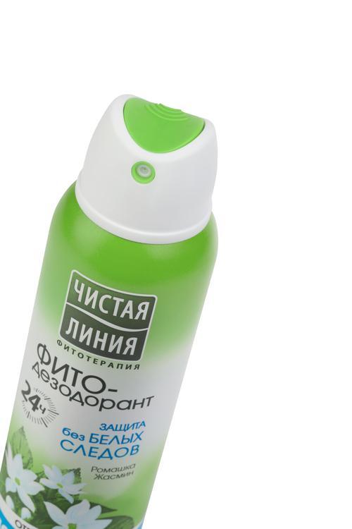 Антиперспирант аэрозоль фитодезодорант чистая линия защита без белых следов