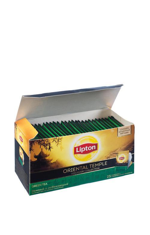Чай зеленый байховый Lipton Oriental Temple