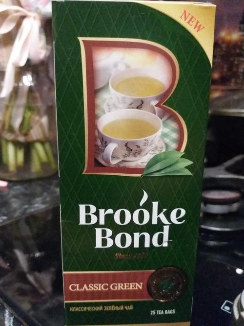 фото1 Чай зеленый байховый brooke bond классический 24x25пx1.8г