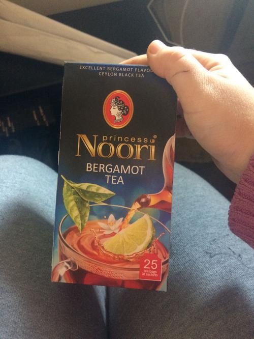 цена Чай черный байховый Принцесса Нури Бергамот в пакетиках