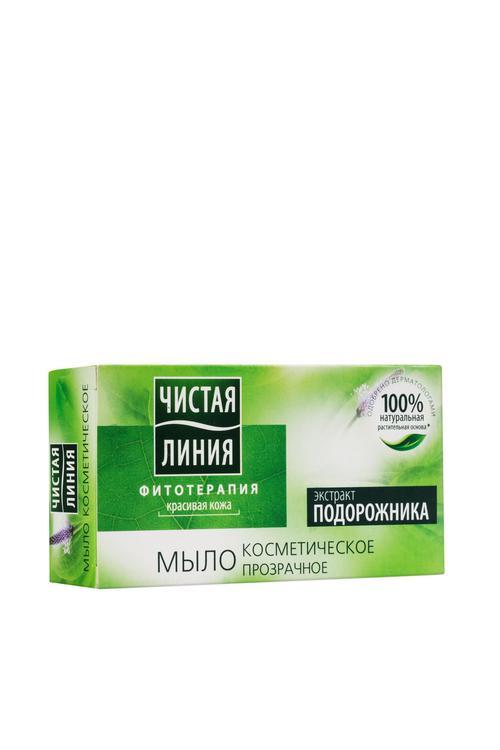 """отзыв Мыло косметическое """"чистая линия"""" экстракт подорожника"""