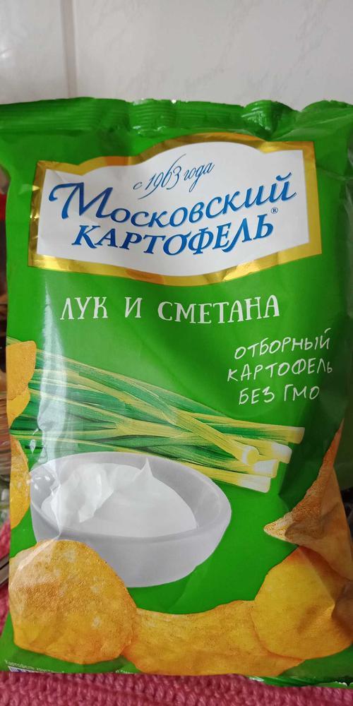 """фото1 Чипсы """"Московский картофель"""""""