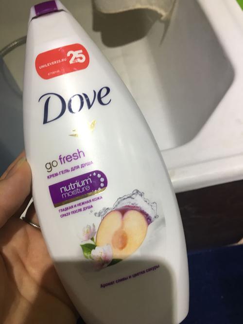 Dove go fresh аромат сливы и цветка сакуры
